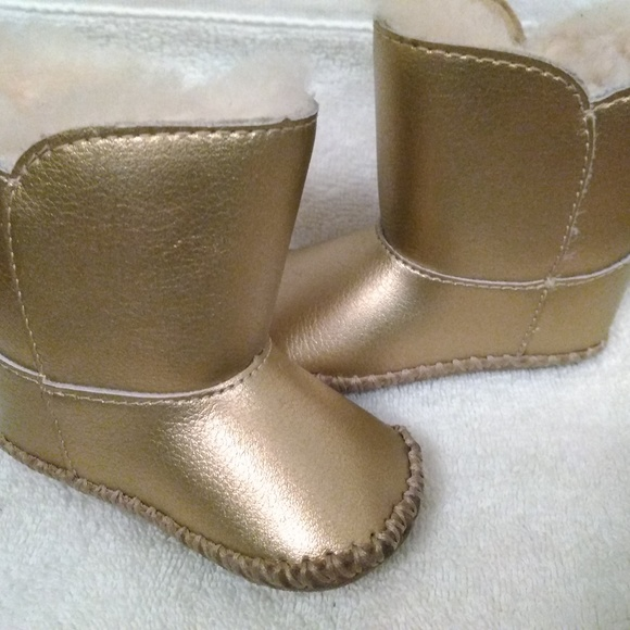 UGG Shoes | Gold Baby S Size 01 | Poshmark
